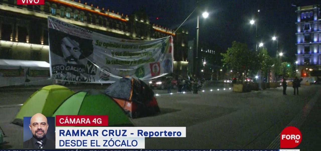 Campesinos llegan al Zócalo de la CDMX; realizarán marchas