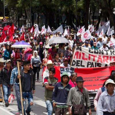 'No hay razón para estar protestando', dice AMLO sobre marchas campesinas
