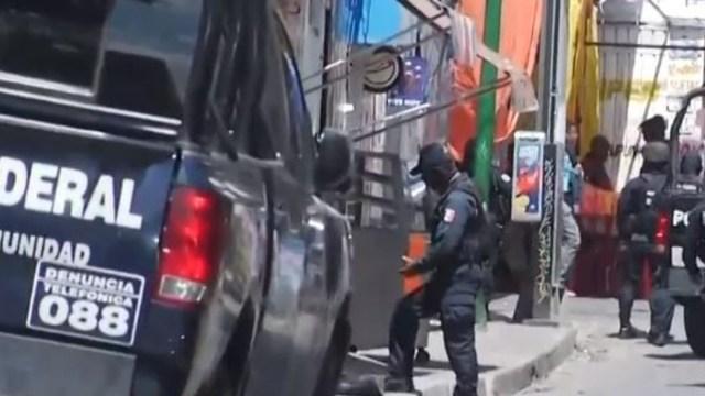 Foto: Agentes de la Policía Federal resguardan la zona, 11 de agosto de 2019 (FOROtv)