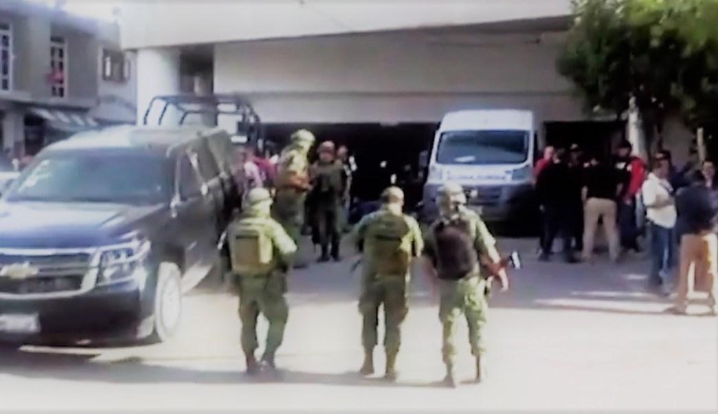 Catean instalaciones de Seguridad Pública de Los Reyes La Paz