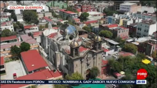 Foto: Fiesta Patronal Iglesia Dañada Sismo Colonia Guerrero Cdmx 2 Agosto 2019
