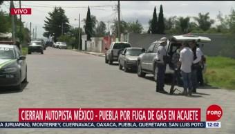 Cierre de autopista Puebla-Orizaba cumple más de 6 horas