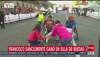 FOTO: Cierres viales por Maratón de la Ciudad de México, 25 Agosto 2019