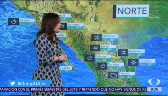 Clima Al Aire: Lluvias en gran parte de México