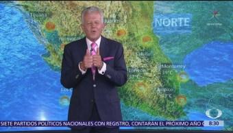 Clima Al Aire: Prevén ambiente muy caluroso en estados fronterizos del norte de México
