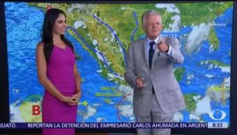 Clima Al Aire: Zona de baja presión provocará lluvias