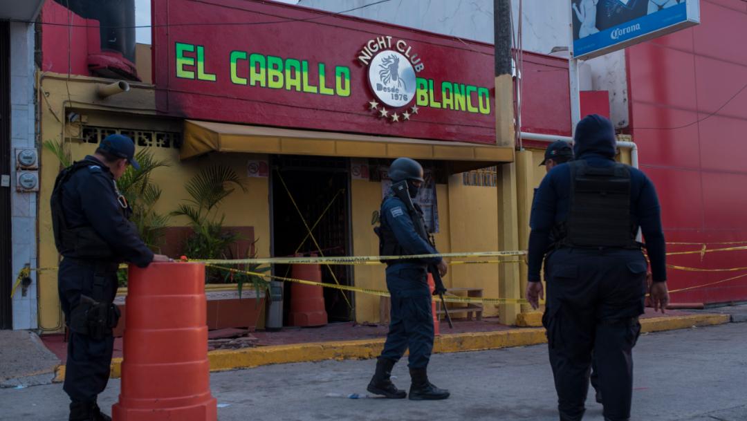 Foto. La madrugada del 28 de agosto se registró un ataque armado a un bar en Coatzacoalcos, Veracruz, 29 agosto 2019
