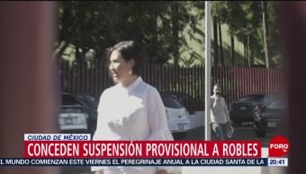 Foto: Conceden Suspensión Provisional Aprehensión Rosario Robles 9 Agosto 2019