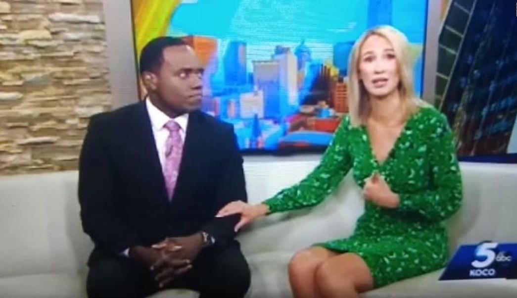 Conductora-noticias-afroamericano-gorila-racismo