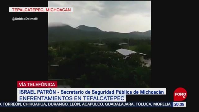 Confirman 9 Muertos Enfrentamientos Tepalcatepec