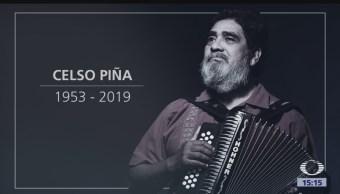 FOTO: Confirman muerte Celso Piña tras sufrir infarto 21 agosto 2019
