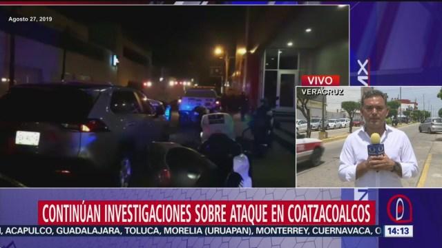 FOTO: Continúa Entrega Cuerpos Ataque Bar Coatzacoalcos 30 agosto 2019