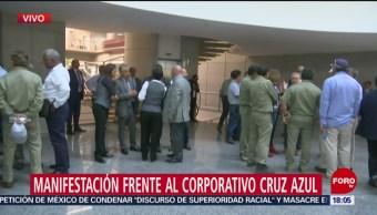 Continua Protesta Cooperativa Cruz Azul, 28 agosto 2019
