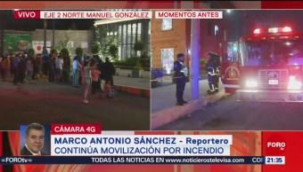 Foto: Controlan Incendio Plaza Comercial Tlatelolco 26 Agosto 2019
