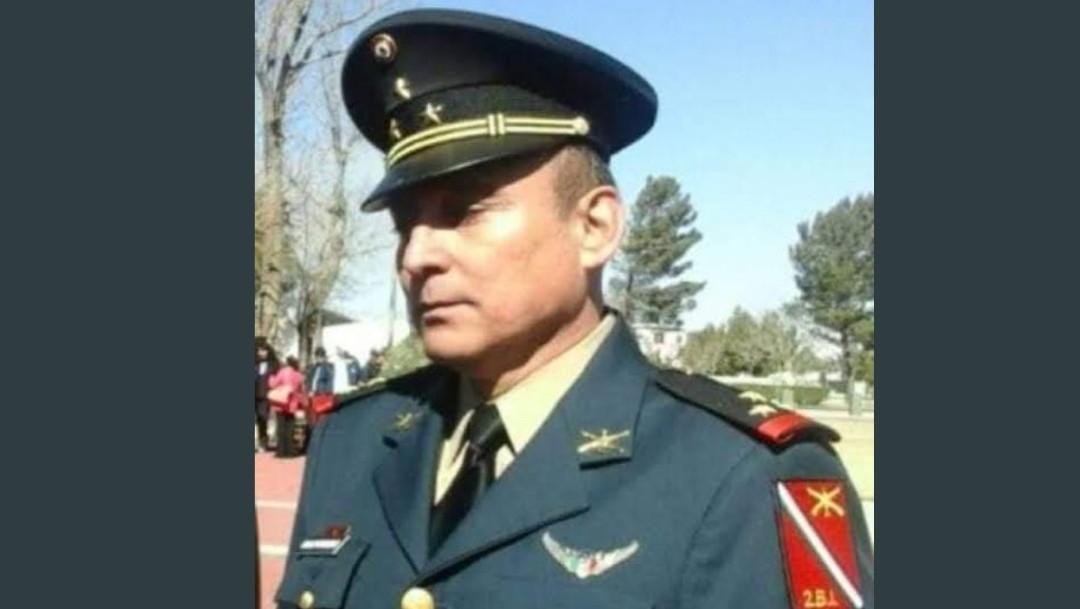 Foto: Maldonado Celis era comandante del 14 Cuerpo de Caballería de Defensas Rurales, 25 de agosto 2019. (Twitter @Somos_LineaAzul)