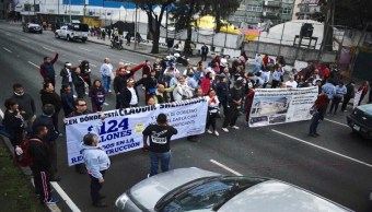 Foto Damnificados bloquean Tlalpan; Asamblea del Multifamiliar se deslinda 9 agosto 2019
