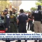 FOTO: De los 26 heridos por tiroteo en El Paso, 3 están graves, 3 AGOSTO 2019