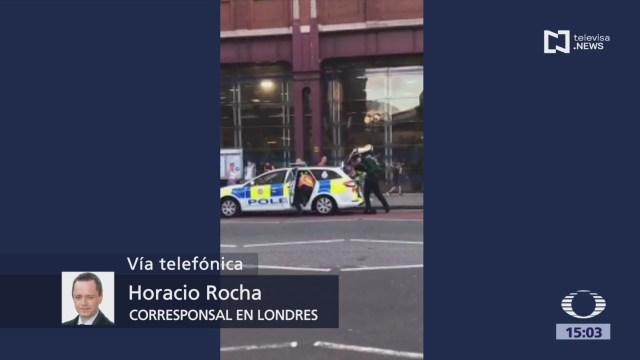 Foto: Desalojan estación Waterloo Metro Londres reporte disparos
