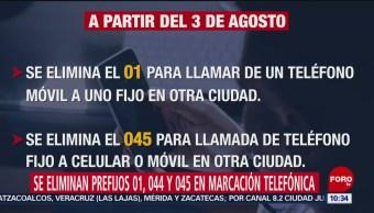 FOTO: Desde este sábado se simplifica la marcación telefónica en México, 3 AGOSTO 2019
