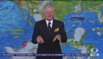 Despierta con Tiempo: Prevén 23 grados y lluvias para la CDMX