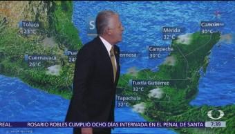 Despierta con Tiempo: Prevén chubascos y caída de granizo en Valle de México