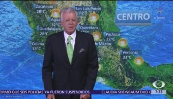 Despierta con Tiempo: Pronostican lluvias y 25 grados centígrados Ciudad de México