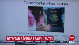 Foto: Detectan Fraude Páginas Internet Citas Pasaporte 12 Agosto 2019