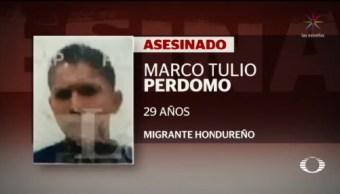 Foto: Detienen Policía Mató Migrante Hondureño Saltillo 5 Agosto 2019