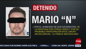 FOTO: Detienen a presunto homicida de sacerdotes en Guerrero, 11 Agosto 2019