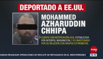 FOTO: Detienen Chiapas presunto extremista estadounidense