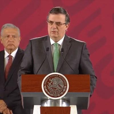 Ebrard detalla plan de migración y desarrollo para Centroamérica