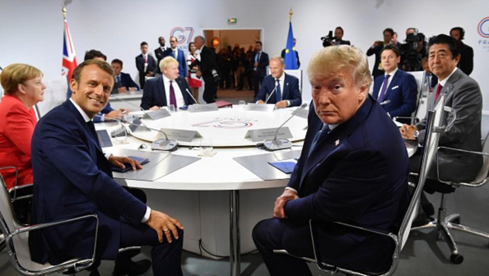 Imagen: El presidente de Estados Unidos, Donald Trump, no asistió a la sesión de líderes sobre biodiversidad y clima el lunes, 28 de agosto de 2019 (Getty Images, archivo)