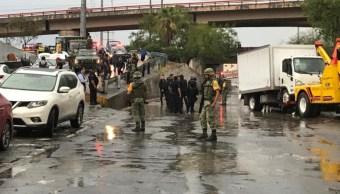 FOTO Ejército apoya a damnificados por lluvias en 6 estados (Sedena)