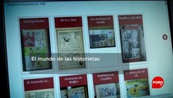 FOTO: El catálogo de historietas de la Hemeroteca Nacional, 11 Agosto 2019