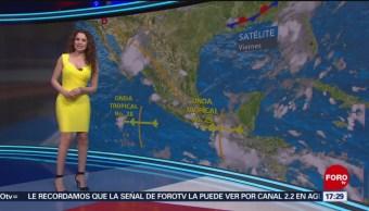 FOTO: clima con Mayte Carranco 16 agosto 2019