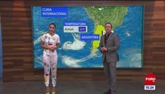 El clima internacional en Expreso del 22 de agosto del 2019
