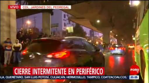 Foto: Elementos Policía Federal Periférico Sur 29 Agosto 2019
