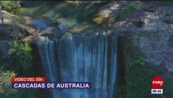 #ElVideodelDía: Cascadas de Australia