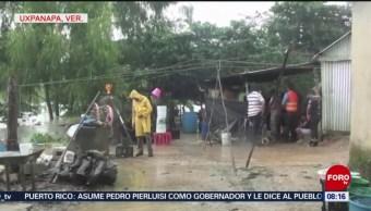 FOTO: En riesgo 50 comunidades de Veracruz por lluvias, 3 AGOSTO 2019