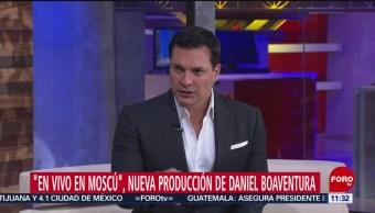 'En vivo desde Moscú', nueva producción de Daniel Boaventura