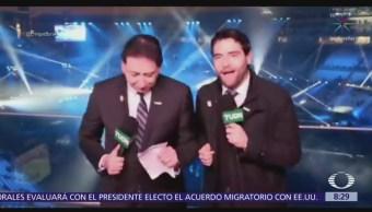 Enrique Burak y Memo Schutz bailan en clausura de Panamericanos 2019