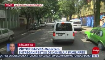 Entregan restos de Daniela Ramírez; la joven que desapareció tras abordar un taxi