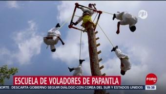 Foto: Escuela Voladores Papantla
