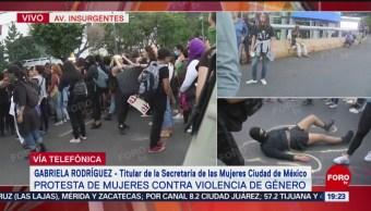 Foto: Reducir Violencia Contra Mujeres Gabriela Rodríguez 16 Agosto 2019