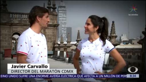 Etiqueta de oro para el Maratón de la Cuidad de México