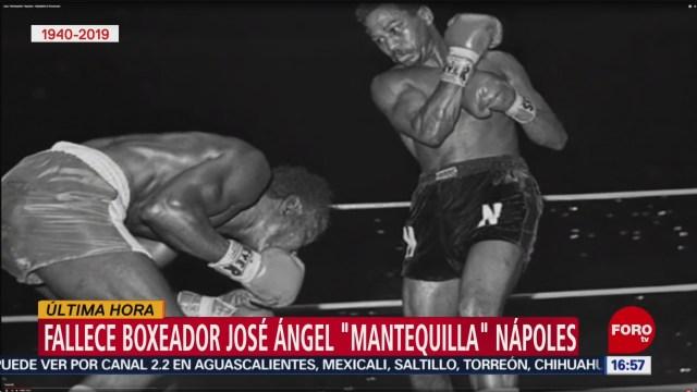 FOTO: Muere Boxeador José Mantequilla Nápoles 16 agosto 2019