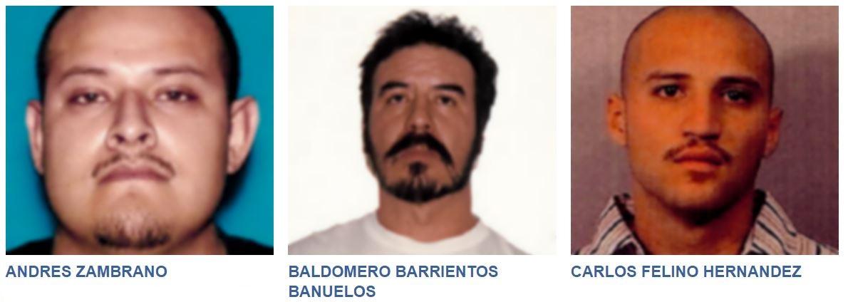 Fugitivos que se esconden en México