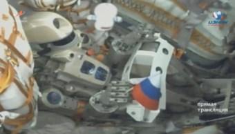 Nave Soyuz rusa con androide Fedor no logra acoplarse a Estación Espacial