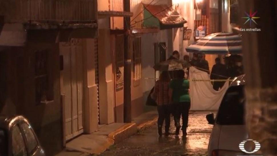 Foto: En la calle de Cañada Real, alcaldía de Álvaro Obregón, una mujer murió en la vía pública tras ser herida por su pareja, 14 agosto 2019