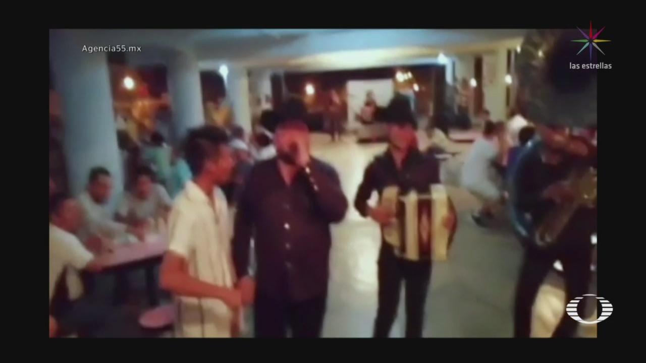 Foto: Video Fiesta Dentro Penal Amate Chiapas 1 Agosto 2019